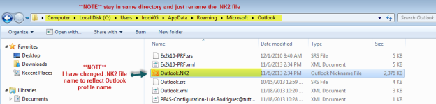 how to find nk2 file in outlook 2007